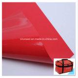 Tela del poliester del PVC de la tela impermeable del bolso/bolso revestidos de los deportes
