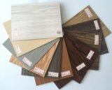 Plancher choisi d'or personnalisé de planche de cliquetis de vinyle de PVC de plancher d'épaisseur