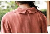 بالجملة يلبّي نساء خاصّ بالأزهار طبق [روفّل] [مإكسي] طويلة ثوب شقّ عنق أحد قطعة ثوب