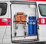 Serbatoio di gas di alluminio dell'ossigeno standard per l'ambulanza
