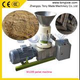 (A) de riz Husk presse à granulés/bois de la machine pour faire pellet