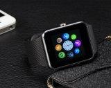 Fábrica del regalo de la Navidad Teléfono modificado para requisitos particulares hecho a mano del reloj de Bluetooth Gt08, Mtk6261 Reloj elegante