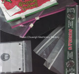 De Ritssluiting die van twee kleur PP/PE/EVA/PVC Machine voor de Zak van het Slot van de Ritssluiting maken