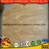 5mm E1 Melhor qualidade de cola para mobiliário compensado de madeira de Teca