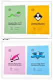Escola de encadernação de grampos barata Livro de exercícios de costura de grampos Notebook Alunos Bonitinha Livro de exercícios
