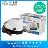 Matériel en plastique de marine de Seaflo 600gph 24V de pompe