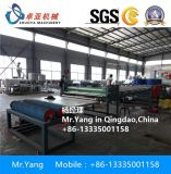 Maquinaria plástica da produção do tapete