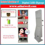 Entrada do negócio da entrada do hotel do aeroporto/unidade móvel livre de Recharger do Signage de Digitas LCD da máquina alameda de compra