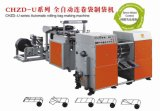 Canaux doubles Coreless Rolling Bag Making Machine