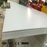 Semi transparency Porcelain White hard plastic Sheets for Lampshade Cover