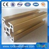 Profil d'aluminium industriel Rocky avec traitement de surface différent