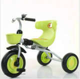 Giro della bici del triciclo del bambino dei capretti della Cina sul triciclo di bambini del passeggiatore del carraio del motorino tre dei giocattoli
