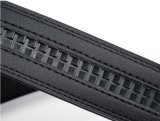 Correias de couro pretas para os homens (HPX-160705)