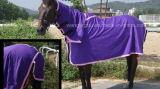 100% algodón, algodón combinado, manta del caballo (CB-07B) de la hoja del verano