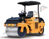 3 Ton rolo vibratório do compactador de solo Rolos ou cilindros de roda dupla (YZC3)