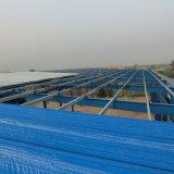 Strutture prefabbricate per la tettoia dell'aeroplano