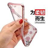 iPhone 6/6s를 위한 호화스러운 비원 TPU 다이아몬드 전화 덮개