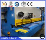 QC12Y 유압 깎는 기계, 격판덮개 절단 및 깎는 기계