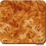 Печати Aqua пленки пленок печатание перехода воды картин зерна грецкого ореха ширины Tsautop 0.5m/1m пленка Hidrografik Tswd12461 печатание деревянной гидрографической гидро