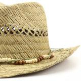 Chapéu unisex do vaqueiro oco da palha