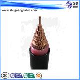 12/20kv XLPE изолировало силовой кабель обшитый PVC