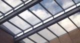 BIPV شفاف الضوئية الزجاج الشمسية