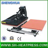 Machine automatique de presse de la chaleur de T-shirt de stations de double de desserrage
