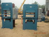 Quattro tipo di vulcanizzazione di gomma pressa di vulcanizzazione della macchina/quattro colonne della colonna del piatto automatico