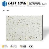 Aperçus gratuits pour la pierre en verre de pétillement blanche de quartz