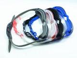 Hot Sale de la sécurité des lunettes de natation de gros de silicone