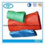 다중 손잡이를 가진 색깔에 의하여 분리되는 색깔 플라스틱 쇼핑 백