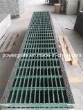 Проступь лестницы стеклоткани GRP/FRP, решетка FRP