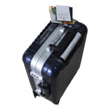 PC 100% Luggage Trolley Fall Suitcase 3jb001