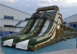 Uitdaging van de Cursus van de Hindernis van het Thema van de camouflage de Opblaasbare