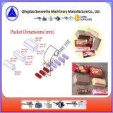 Celofane automático sobre o envolvimento da máquina de embalagem para o biscoito