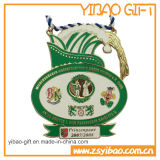 昇進のギフト(YB-LY-C-07)のためのリボンが付いているカスタム記念品メダル