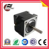 Pequeño motor de escalonamiento de la vibración NEMA17 para la máquina del CNC