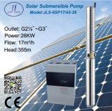 416L 6inの潅漑の太陽動力を与えられた水ポンプ