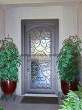 美しい機密保護の鉄の単式記帳の扉グリル