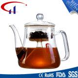 Agradable calor de alta calidad resistente a la tetera de vidrio borosilicato (CHT8142)