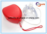 Masque approuvé par le FDA de CPR pour l'écran protecteur de face Emergency de la délivrance CPR