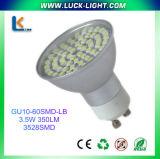 Lampadina di GU10 60SMD LED