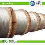 Alto acero de aluminio del conductor de Voltageprofessional ACSR 125/30 ACSR reforzado