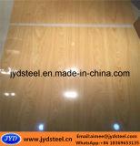 Bobina de aço PPGI de madeira com superfície de filme