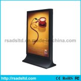 Prix ​​d'usine défilement LED Light Box Advertising Display