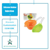 Подгонянный комплект Kitchenware силикона Tableware пользы продуктов силикона качества еды ежедневный