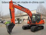 Excavatrice de chenille de Baoding Bd150-8 15ton à vendre