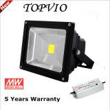Alto potere esterno di illuminazione dell'indicatore luminoso di inondazione della PANNOCCHIA LED 50W LED