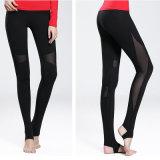 Hoher Elastane Frauen-Yoga-Hose-Frauen Legging Gymnastik-Abnützung-Hersteller