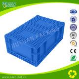 Caixa plástica do armazenamento para a fruta e o produto aquático